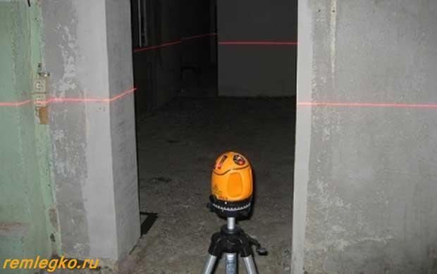 Лазерныё уровень