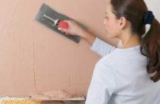 Подготовка стен к декоративной отделке