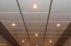 Как установить подвесной потолок армстронг