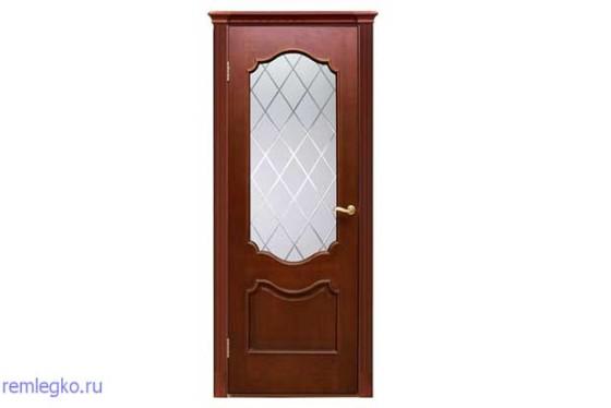 Остеклённая дверь