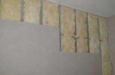 Обшивка стен гипсокартоном на каркасе