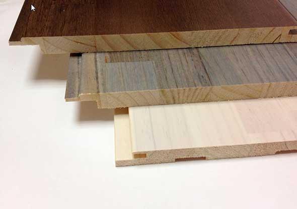 Панели из цельной древесины