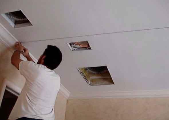 Разметка потолка