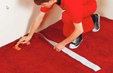 Как стелить ковролин своими руками
