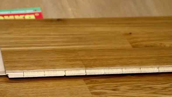 Паркетная доска из натуральной древесины ценных пород