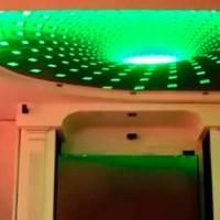 Натяжной потолок с 3D эффектом