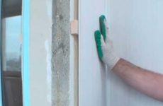 Обшивка стен балкона панелями ПВХ