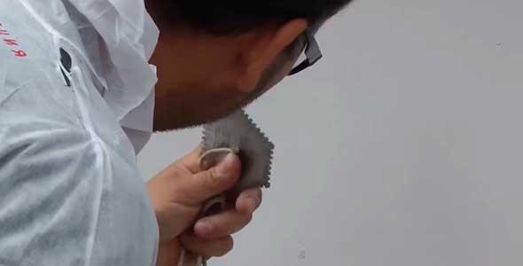 Проверка толщины слоя