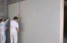 Выравниваем стены гипсокартоном