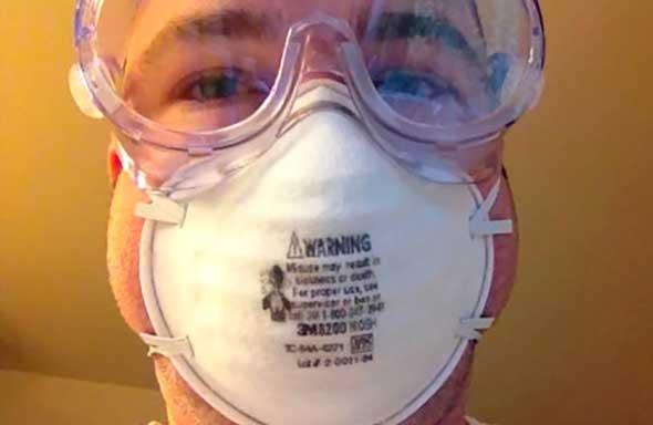 Защита органов зрения и дыхания