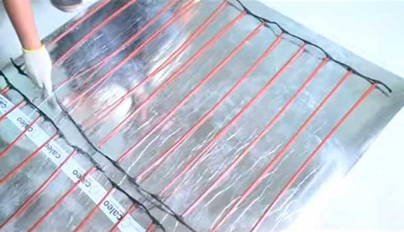 Инфракрасный стержневой термомат