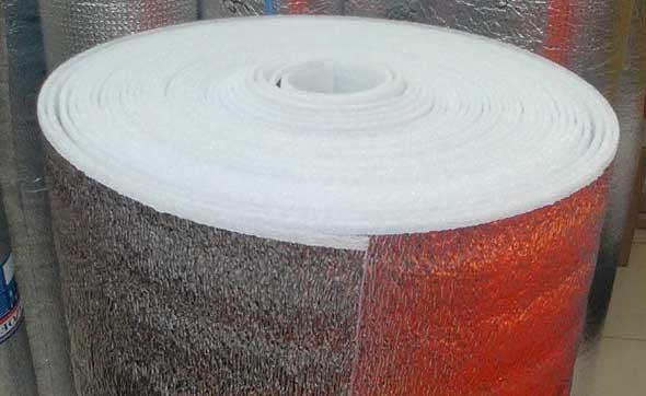 Изолон ламинированный теплоотражающей фольгой