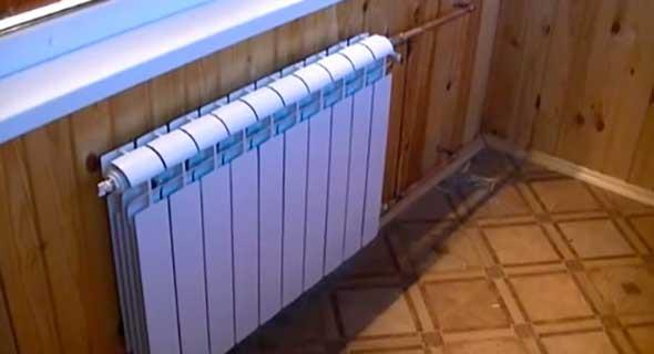 Центральное отопление на балконе и лоджии
