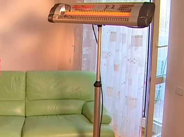 Напольный ИК-обогреватель