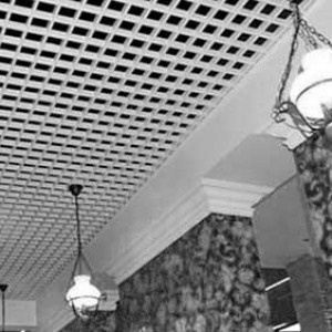 Подвесной потолок Грильято – краткий обзор