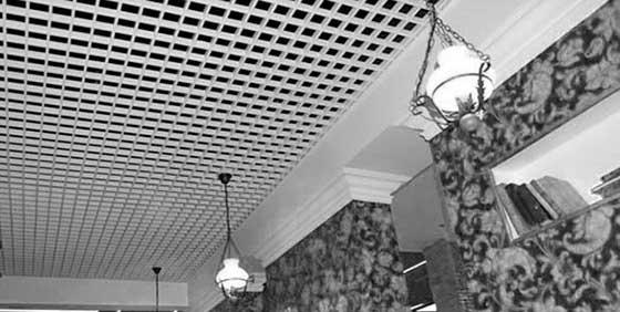 Потолок Грильято в квартире