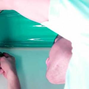 Как сделать натяжной потолок в ванной комнате своими руками