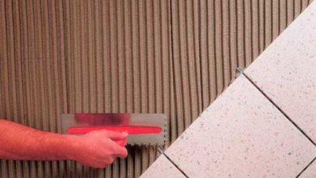 Клей для керамической плитки и керамогранита