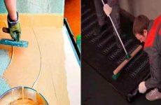 Гидроизоляция пола квартиры и материалы для её укладки
