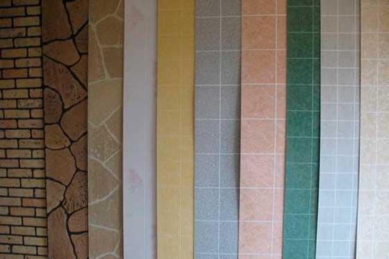 Образцы расцветки реечных панелей