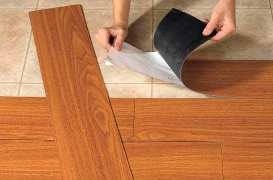 Кварцвиниловая плитка для кухни