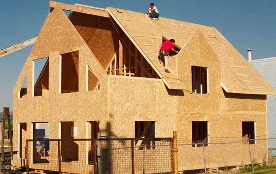 Строительство дома плитами OSB