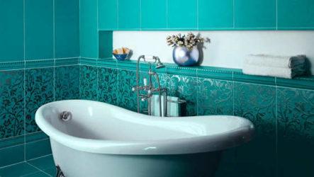 Плитка для ванной: критерии выбора материала