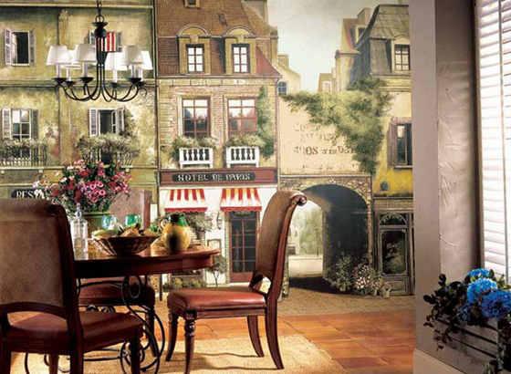 Столик на улице в Провансе