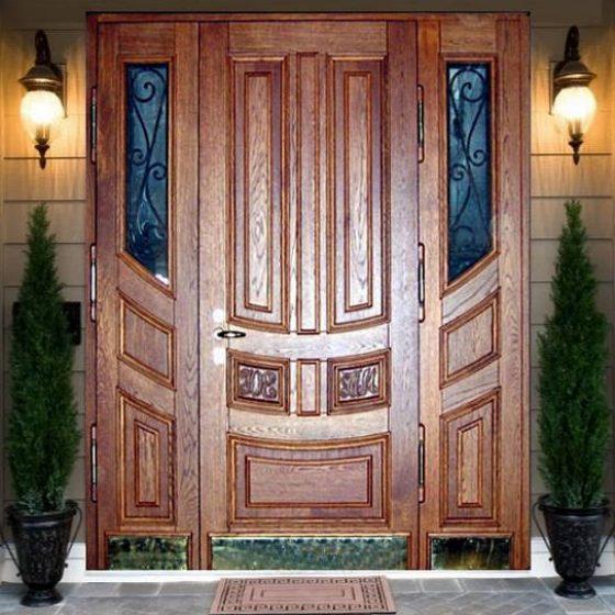 Полуторапольная стальная дверь