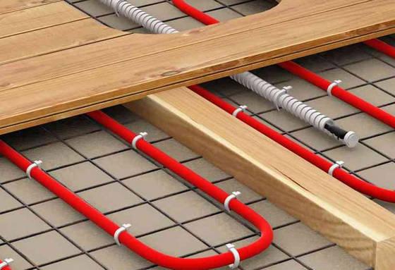 Электрический тёплый пол под финишным напольным покрытием
