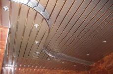 Реечные потолки для вашей квартиры