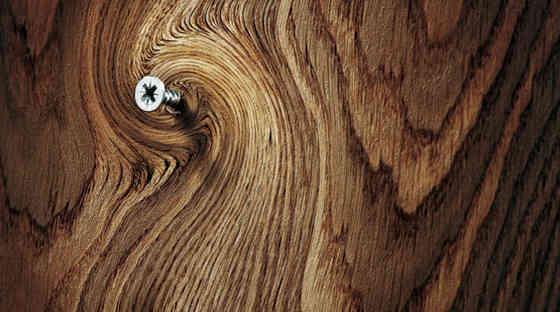 Обои из древесного шпона