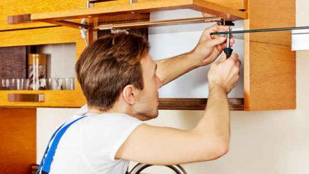 Ремонт кухонной мебели своими руками – инструкция