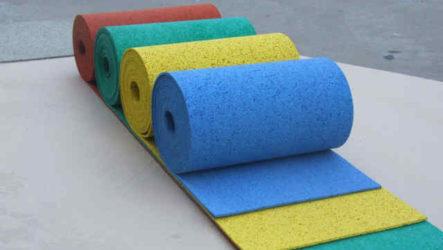Резиновое напольное покрытие – неоспоримые преимущества