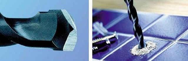 Как правильно сверлить керамическую плитку