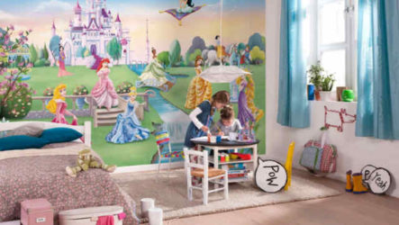 Детские обои: состав, цвет, рисунок