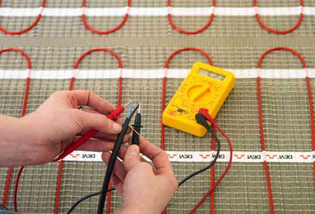 Проверка сопротивления провода