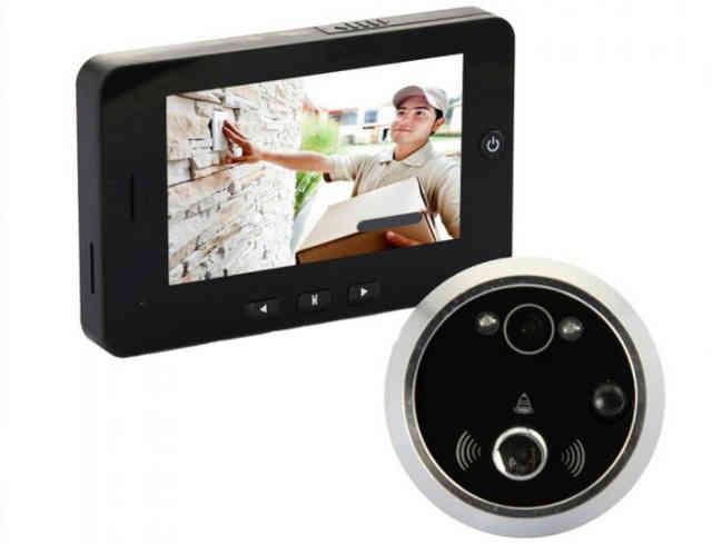 Комплект видеоглазка с удалённым дисплеем