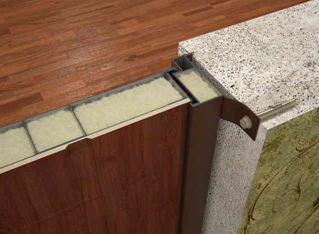 Образец изоляции двери