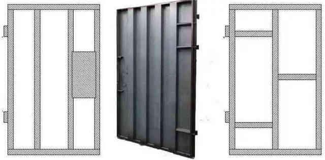 Рёбра жёсткости в металлической двери