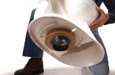 Как установить унитаз на кафельную плитку