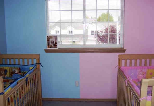 Зонирование детской спальни с учётом личных предпочтений детей