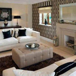 Как создать стильный и неповторимый дизайн: зонирование комнаты обоями