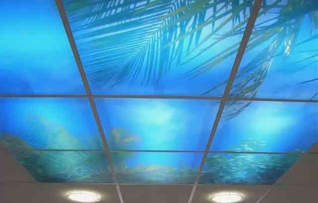 Светящийся потолок Армстронг