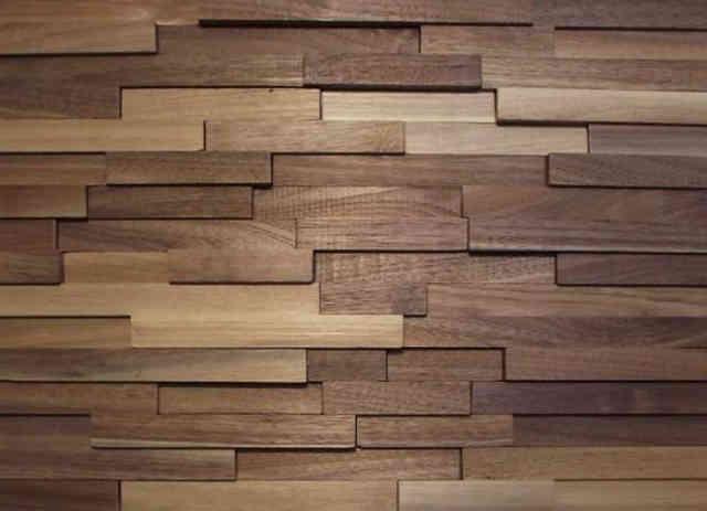 3-D панели из ценных пород древесины