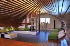 Деревянный потолок – виды, свойства, монтаж