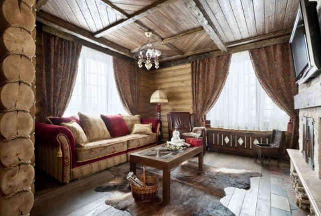 Дизайн помещения в стиле кантри
