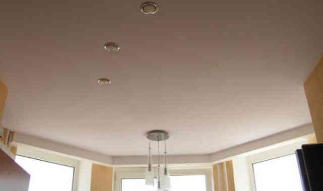 Качественные натяжные потолки из ткани
