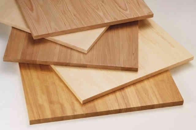 Панели из массива древесины