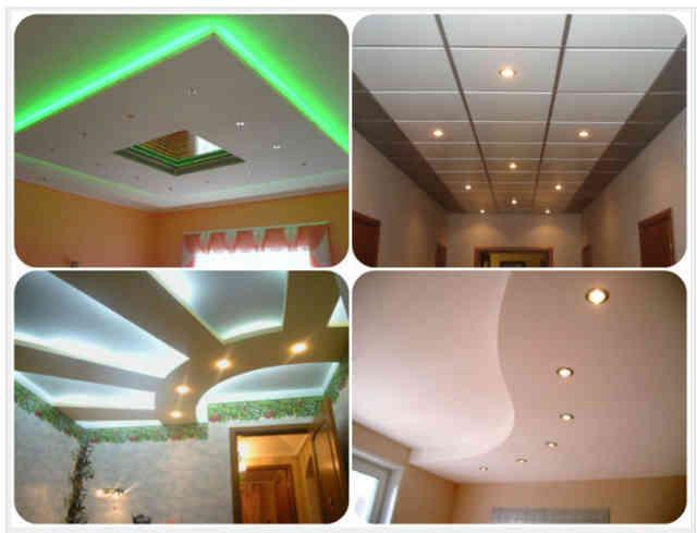 Популярные виды отделки потолка. Как сделать потолок